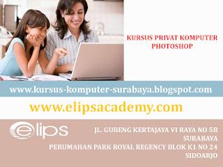 KURSUS PRIVAT PHOTOSHOP SURABAYA | ELIPS ACADEMY COMPUTER