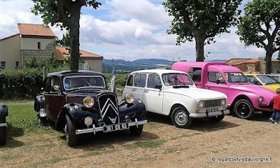 Egliseneuve-près-Billom, vide grenier et autos rétro de collections
