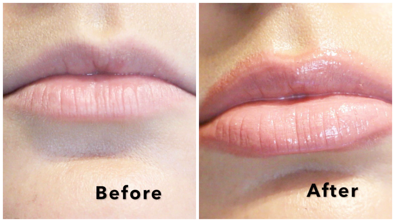 How To Get BIGGER Looking Lips