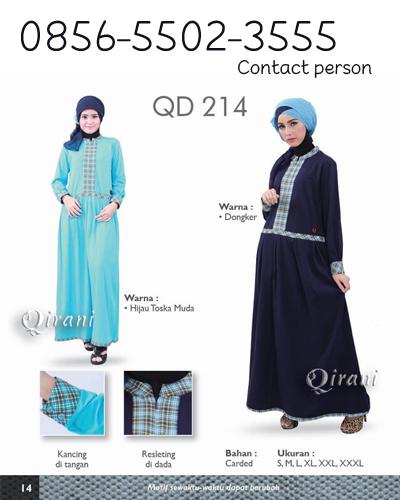 Grosir Baju Muslim Qirani PinBB 536816F7  bd19e6e695