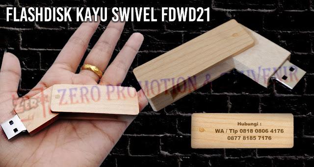 flashdisk souvenir menjual Usb Souvenir Kayu Putar, Flashdisk Swivel Kayu Oval - FDWD21, Flashdisk Kayu Swivel Promosi Type : FDWD 21, USB Wood Swivel FDWD21, Flashdisk Promosi Kayu FDWD21