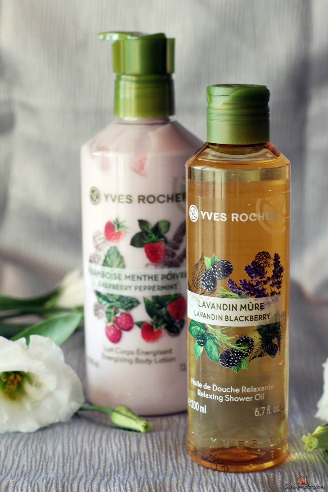 Yves Rocher - Plaisires Nature איב רושה סדרה חדשה עינוגי עונג הטבע גלוסברי
