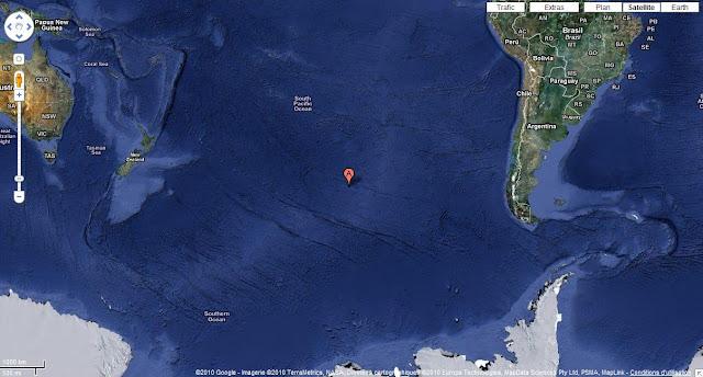 Το Σημείο Νέμο στον Ειρηνικό Ωκεανό - Το πιο απρόσιτο μέρος στη Γη