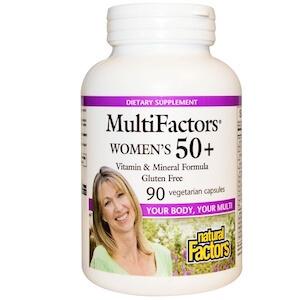 Natural Factors - MultiFactors Women's 50+