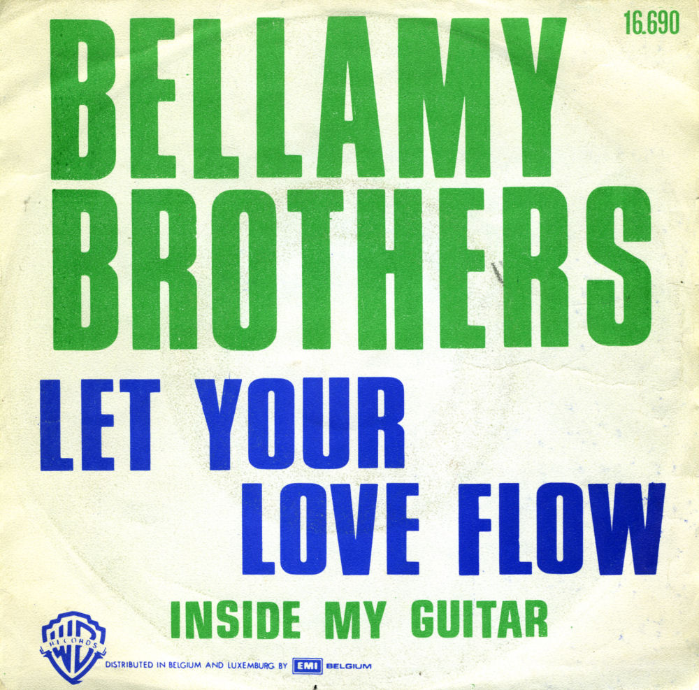 Music On Vinyl Let Your Love Flow Bellamy Brothers