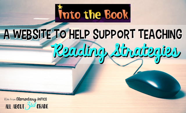 Find out about Into the Book to help support teaching reading strategies and grab a FREEBIE!  Great resources for teachers and students!Use Into the Book to help support teaching reading strategies.  Great resources for teachers and students!