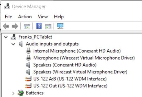 Thomson Family Blog: Installing Tascam US-122 on Windows 10
