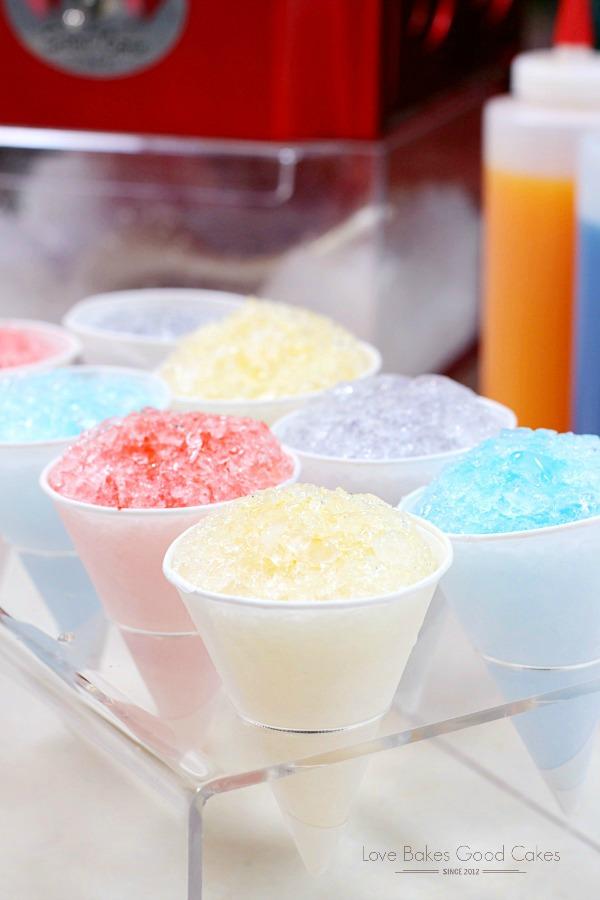 Homemade Snow Cone Syrup