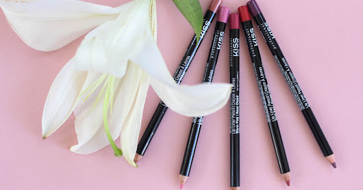 KISS NEW YORK Professional Карандаши для губ Lip Liner Pencil