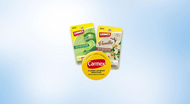 Carmex Lime and Vanilla Flavor Lip Balm - Global Distributors