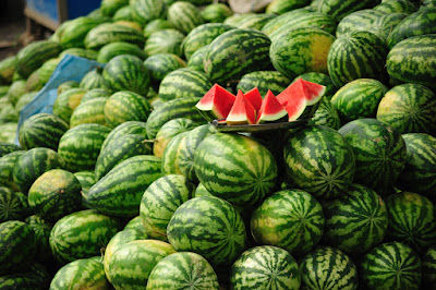 buah semangka manis