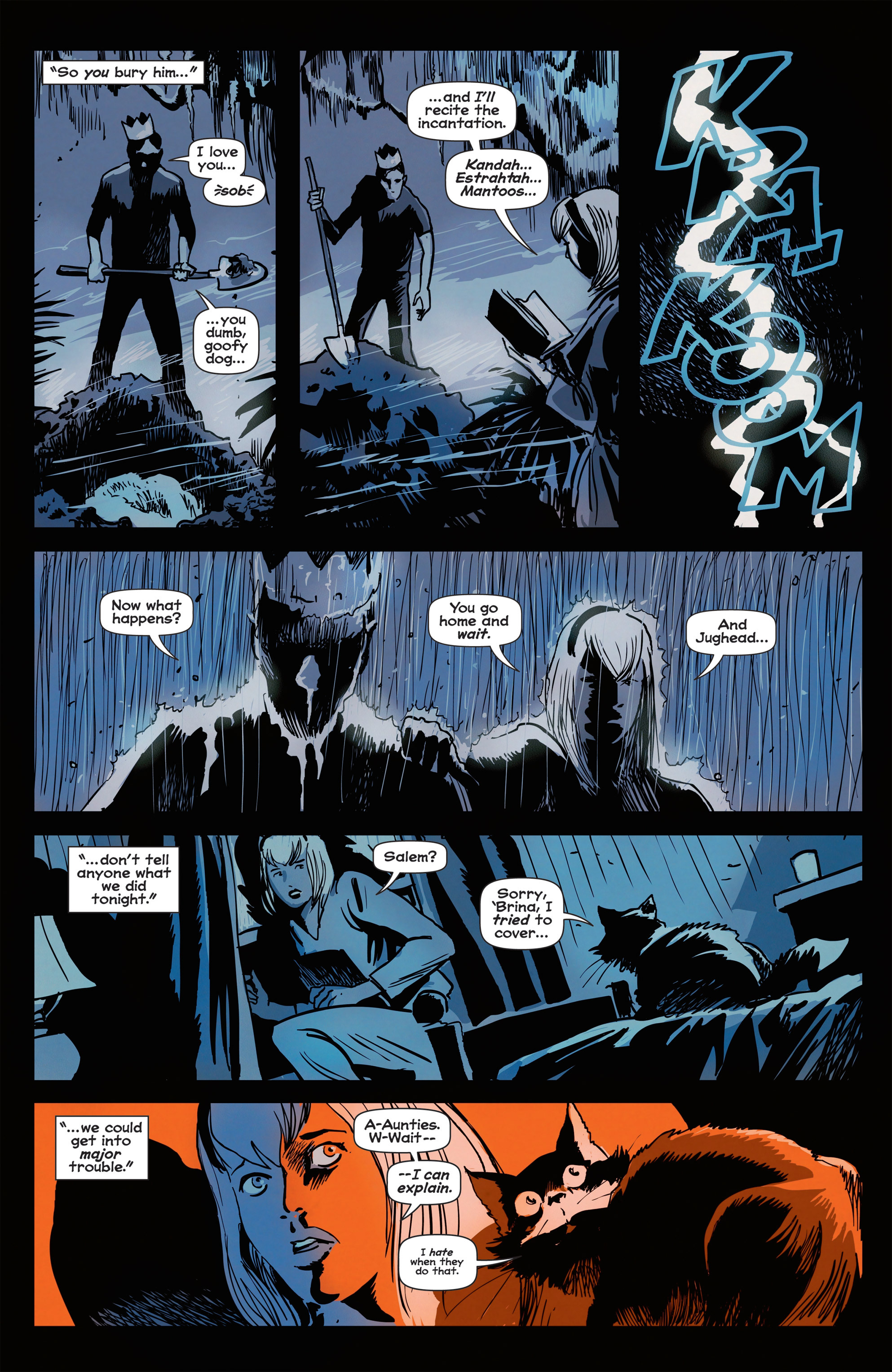 Read online Afterlife with Archie comic -  Issue #1 - 10