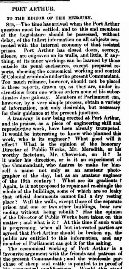 Letter To The Editor Of Mercury Friday 20 June 1873 Page 2