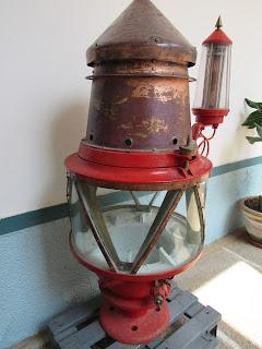 Faro Vilán. Antiguas ópticas de faros