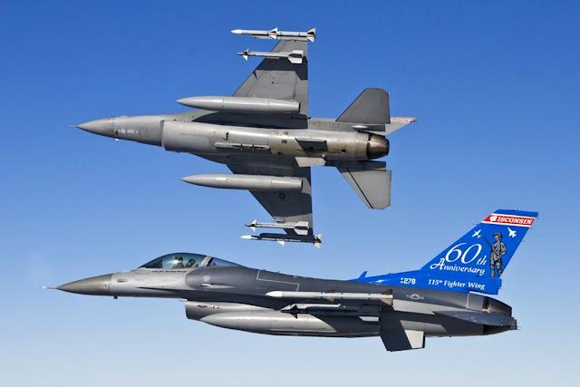 US ANG F-16 Poland