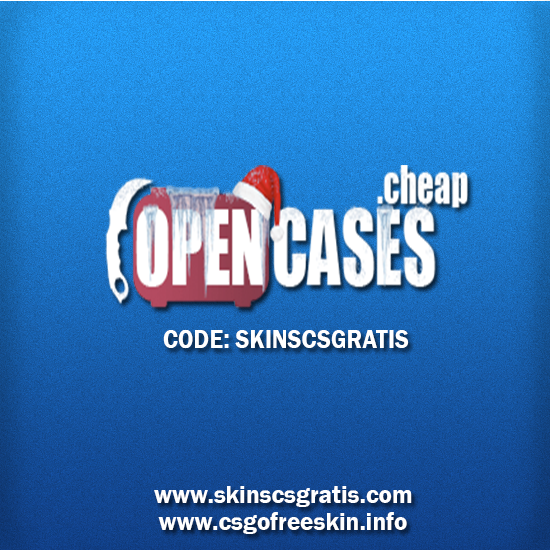 New website for you to open boxes for free. code: skinscsgratis