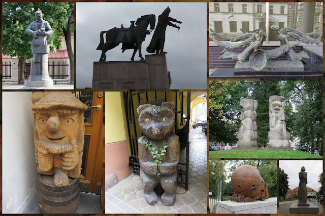 Weekend City Break in Vilnius Lithuania - Sculpture
