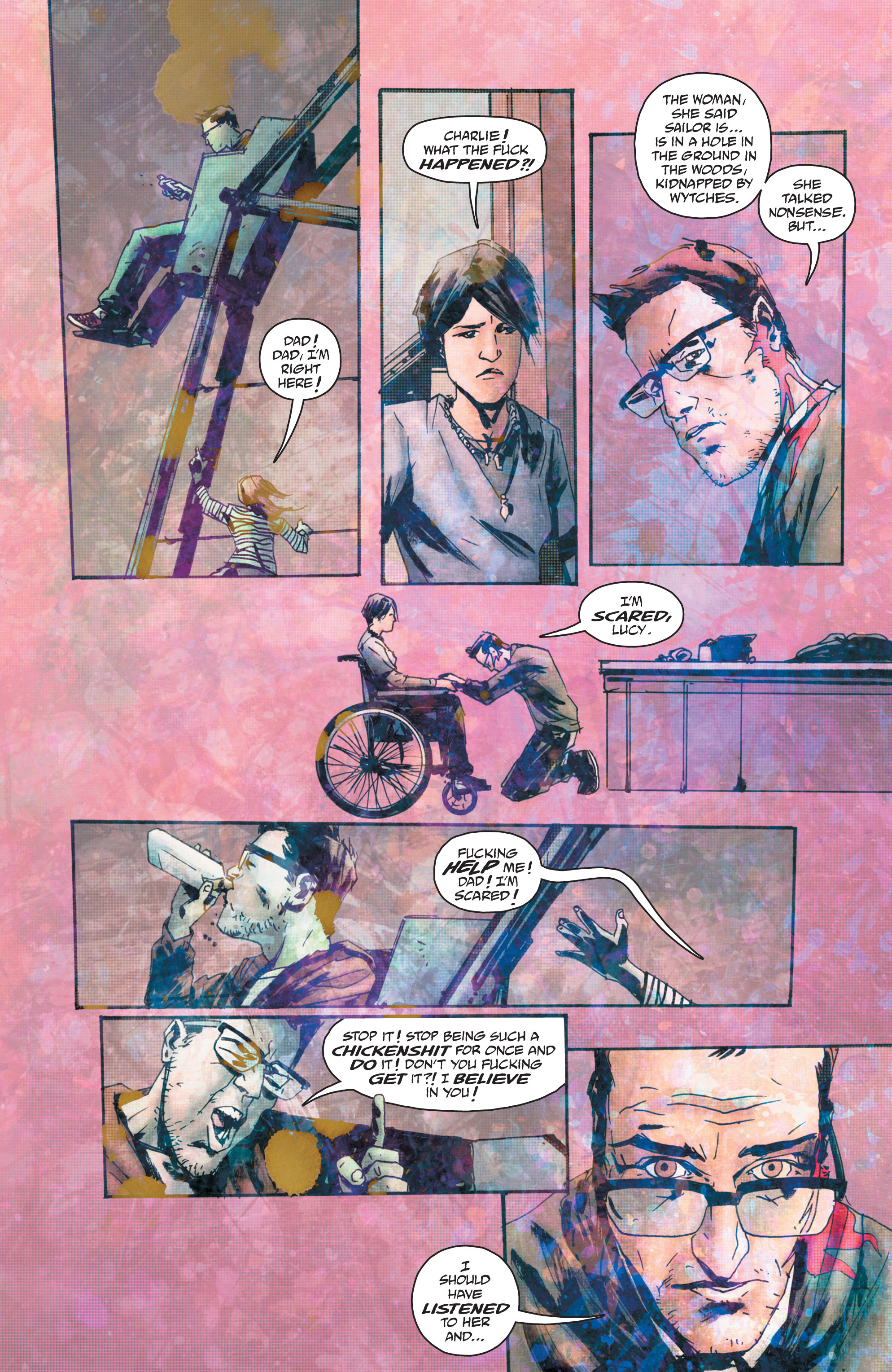 Read online Wytches comic -  Issue #4 - 21