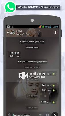 WhatsUp Mod V2.18.195 - Nissa Sabyan