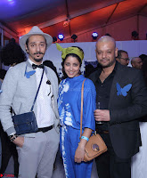 Nitin Bal Chauhan (Left) & Nida Mahmood  with a guest.jpg