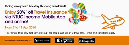 Ntuc Travel Insurance Promo Code