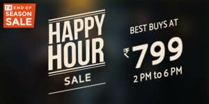 Trendin Happy Hour Sale: Buy Men's Clothing for Flat Rs.799 Only (Valid till 6 PM Today)