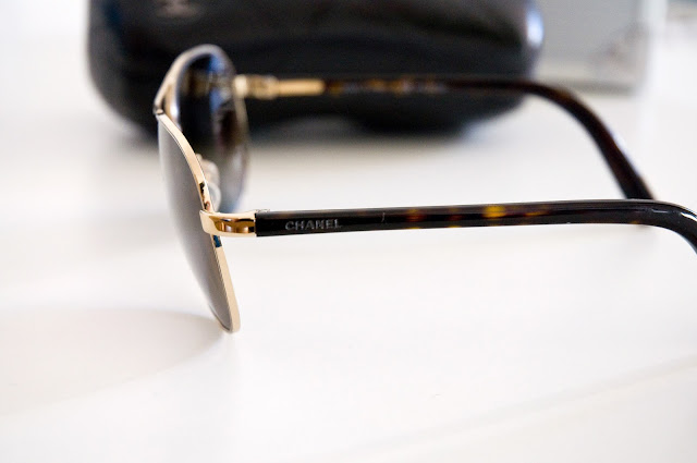 okulary przeciwsłoneczne marki Chanel 4201