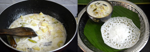 Potato stew-side dish for appam