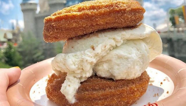 mickey ice cream sandwich in magic kingdom