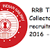 RRB Railway Ticket Collector Recruitment 2016
