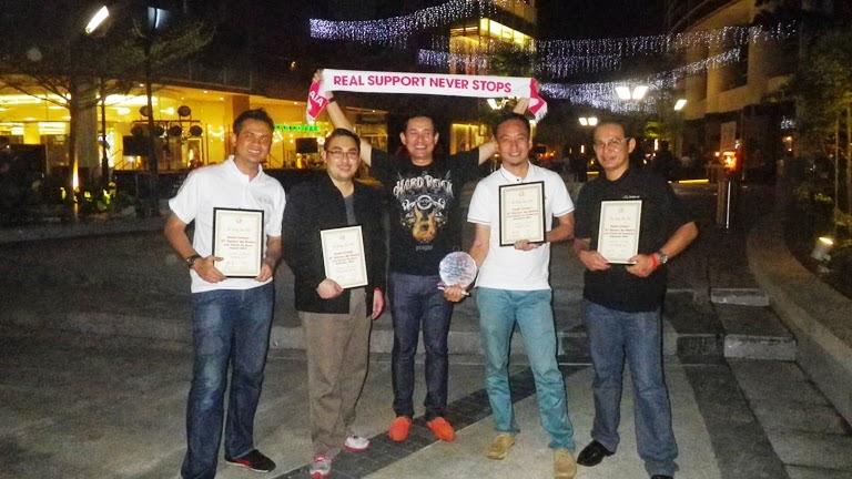 Selepas AIA Rising Star Club bersama DM Wan Zaini dan team saya Azrai dan Ibrahim