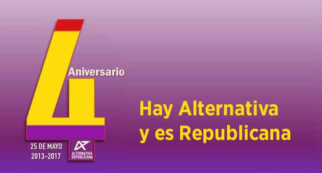 Alternativa Republica cumple cuatro años desde su fundación