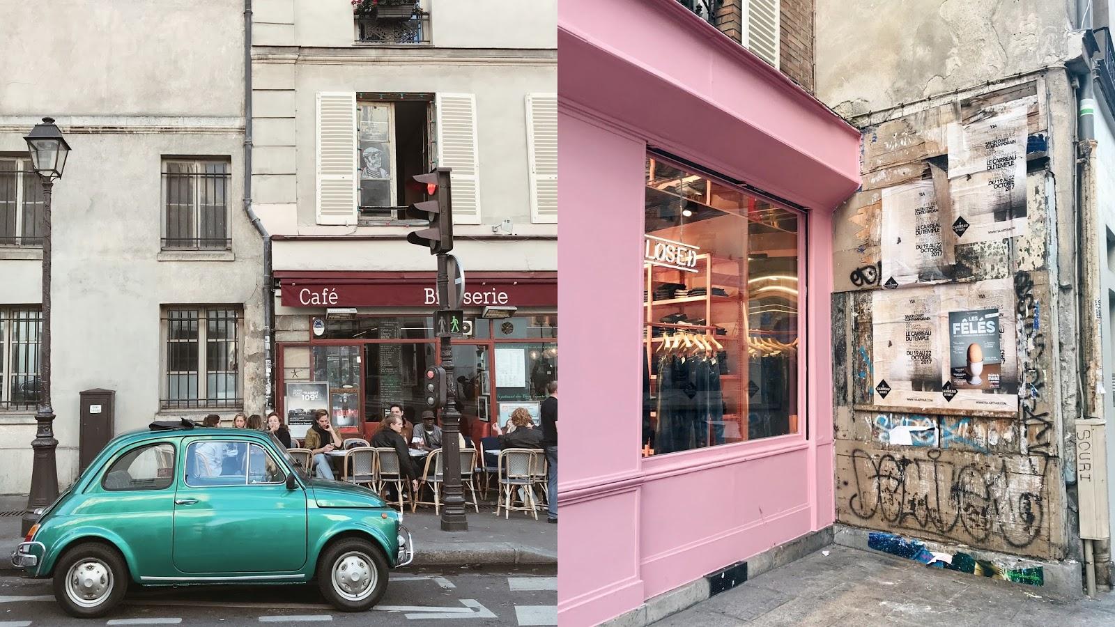 One day in Paris Le Marais