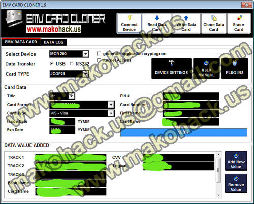 emv card cloner 19 - Visa Debit Card Money Adder