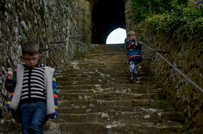 Carisbrooke castle, family fun on the isle of wight