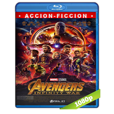Avengers Infinity War (2018) BRRip Full 1080p Audio Trial Latino-Castellano-Ingles 5.1