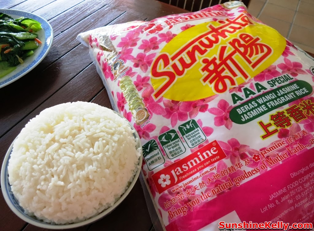 Chinese New Year Reunion, Rice is Life, jasmine sunwhite rice, Bernas, haagen-dazs, reunion dinner, cooking, recipe, fragrant white rice