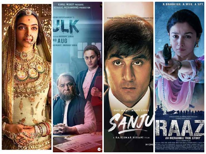 Top 10 Hindi films of 2018, will number two wonder