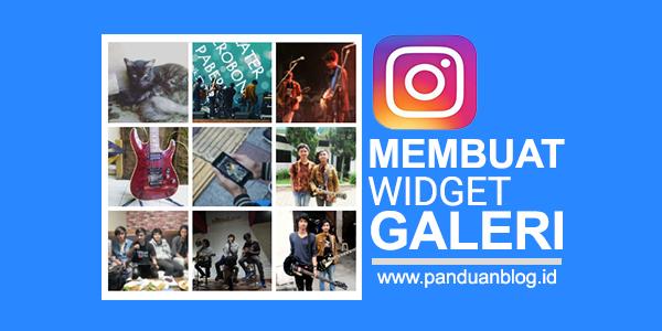 Cara Membuat Widget Galeri Foto Instagram di Blog
