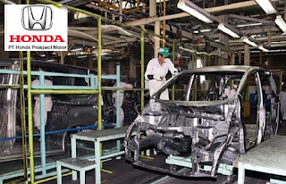 Operator Produksi PT Honda Prospect Motor