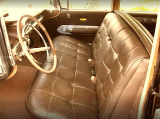 1959 Cadillac Fleetwood Brougham Limousine Seat Front