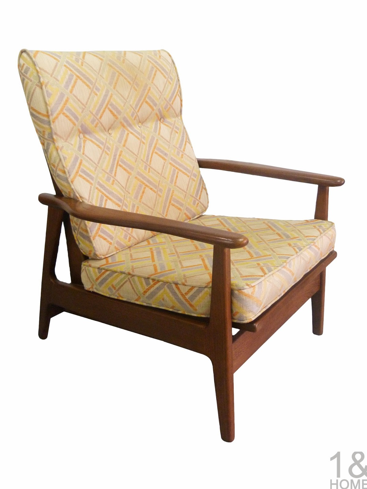 Mid-Century Modern Baumritter Rocking Lounge Chair