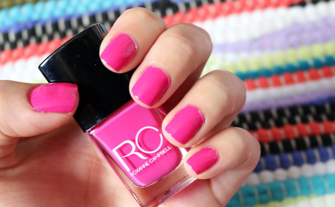 Roxanne Campbell Nail Lacquer in Sitting Pretty swatches