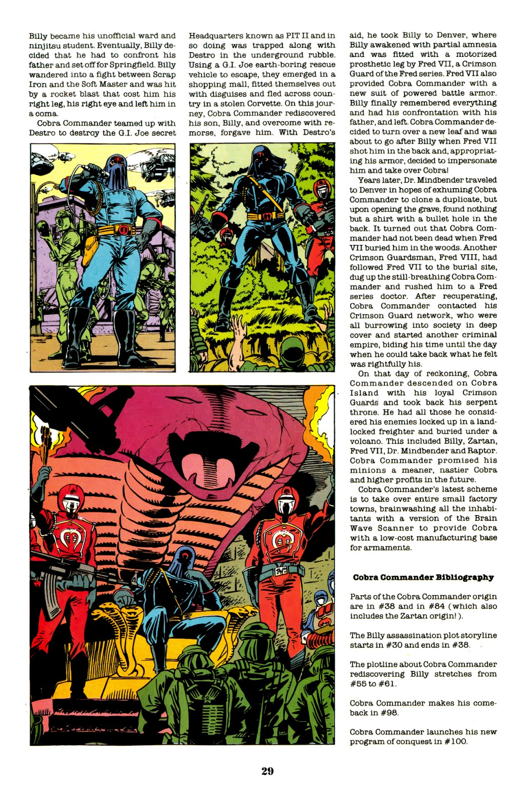 Read online G.I. Joe: Cobra Commander Tribute - 100-Page Spectacular comic -  Issue # TPB - 30