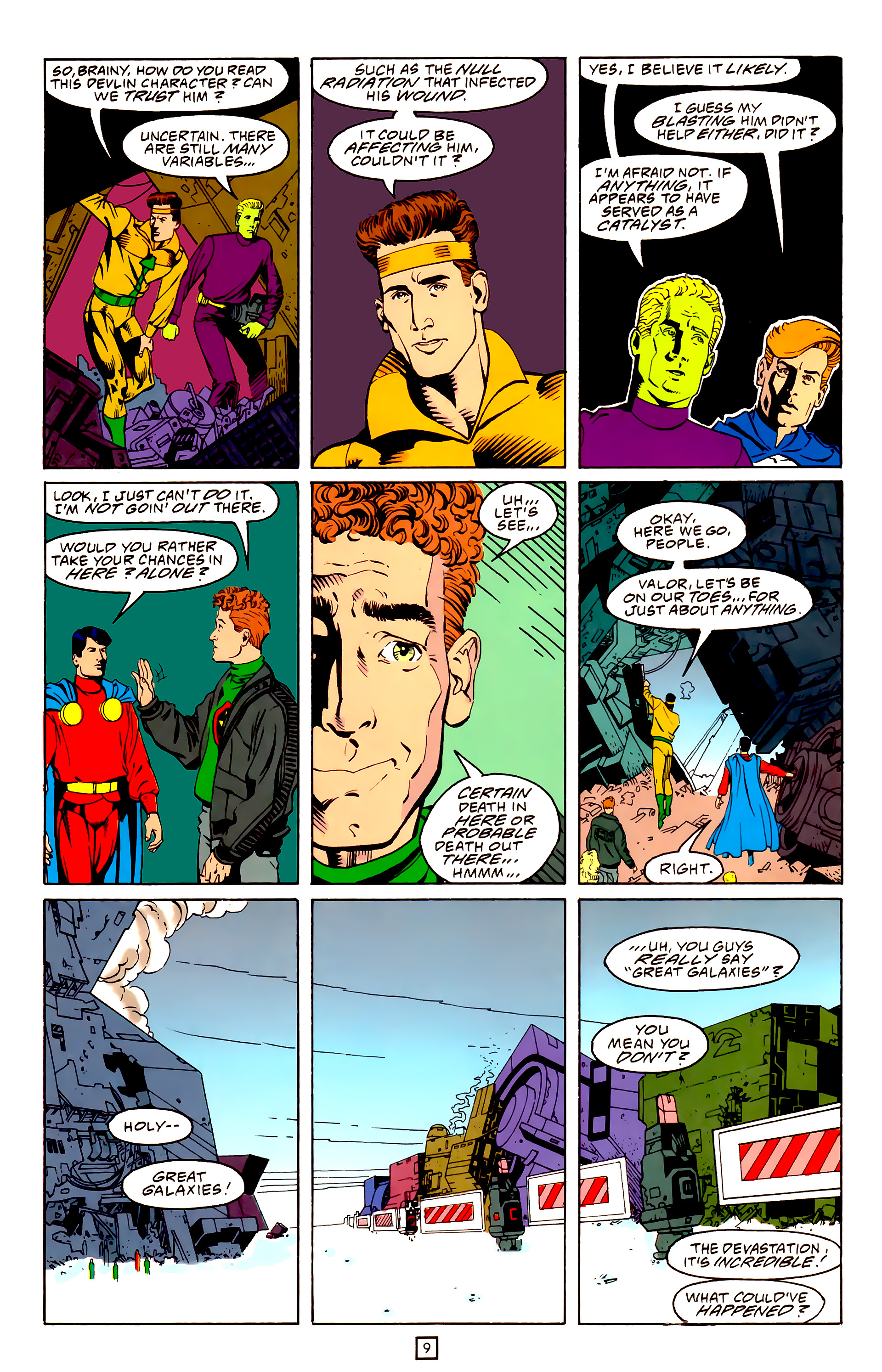 Legion of Super-Heroes (1989) 25 Page 9