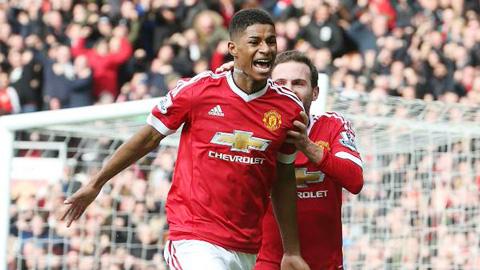 Rashford chính thức trở thành cầu thủ trẻ nhất lập công cho MU ngay ở trận ra mắt.