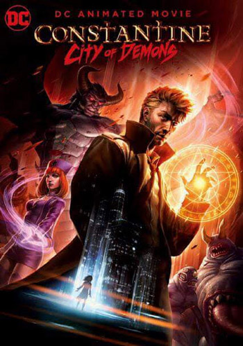 Constantine City of Demons The Movie 2018 English BluRay 480p 250MB