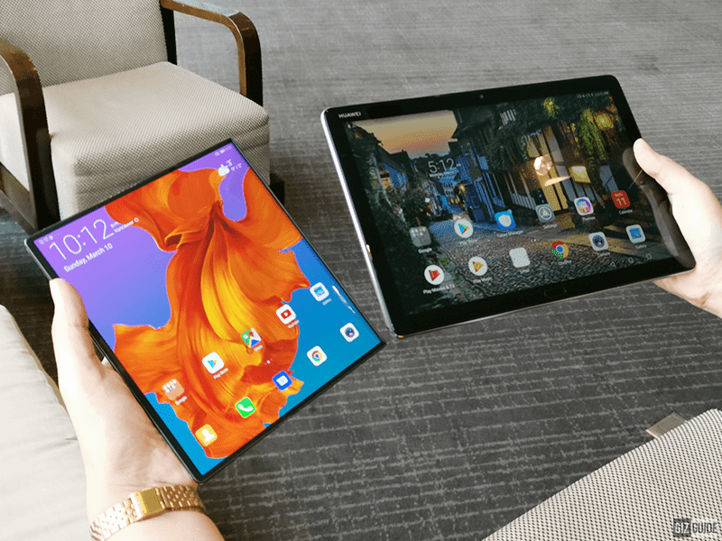 Side by side with the MediaPad M5 lite