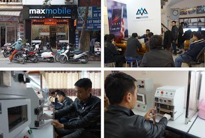 Maxmobile địa chỉ thay thế, sửa chữa điện thoại uy tín
