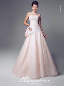 abito da sposa principesco Blumarine 2014